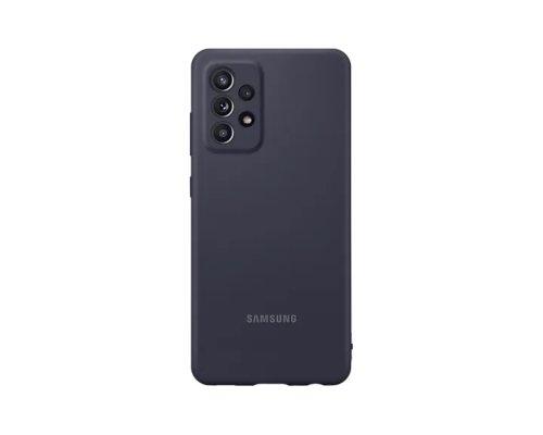 Samsung Galaxy A52 Silikonska maska Crni