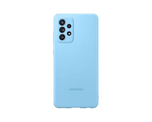 Samusng Galaxy A52 Silikonska maska Plavi
